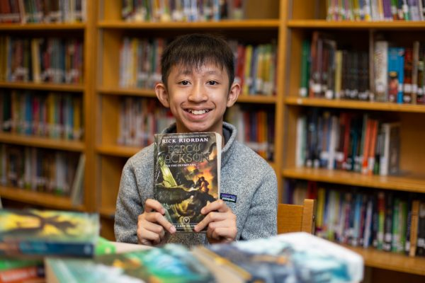 One Books Leads to Another (and Another) for Fifth Grader