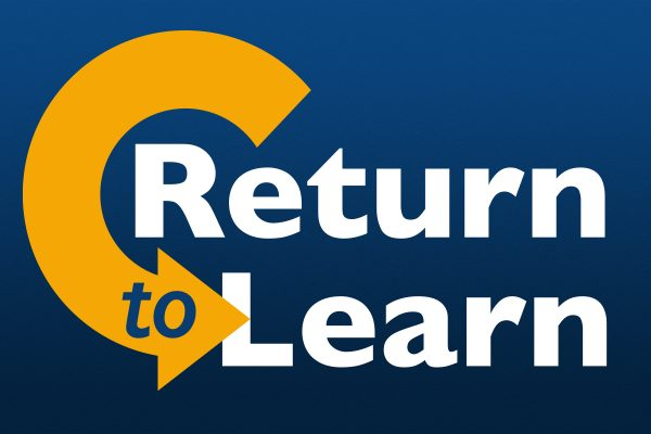 Return To Learn Information for 2020-2021