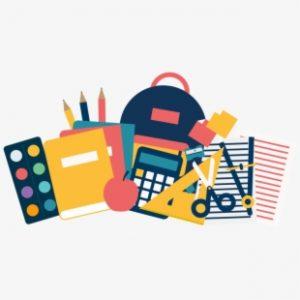 75 755558 school supply lists clipart transparent school supplies